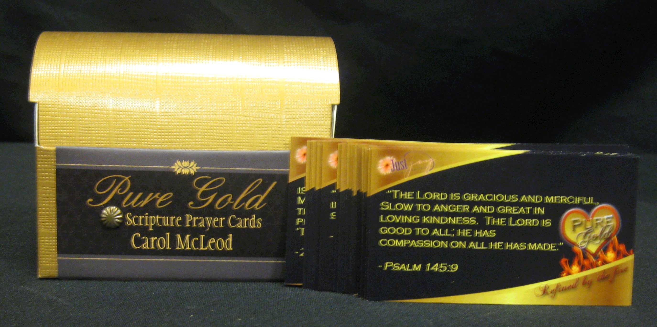 Pure Gold Scripture Cards